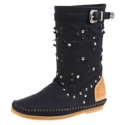 Ital Design Damen Schuhe, 33207, Stiefel