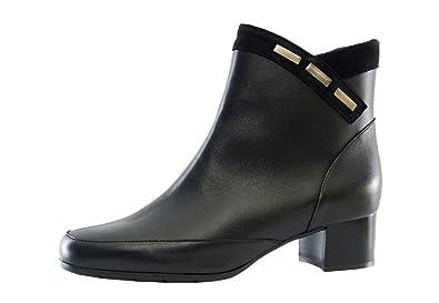 Largeur noires cuir Artika Bottines en Coley 53Rj4AL