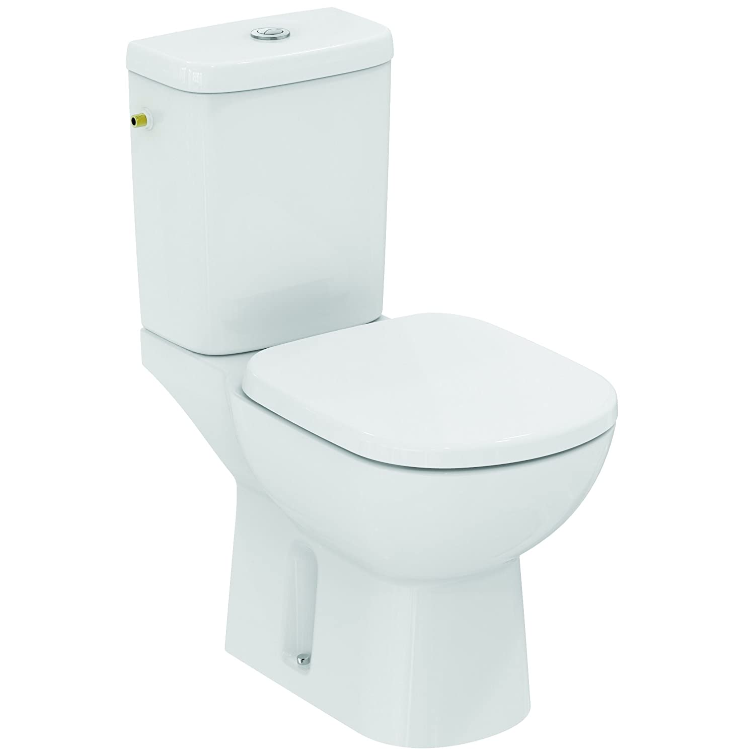 Ideal Standard E716901 Connect Classic Pack WC arc latéral Blanc ... f6aad8991b84