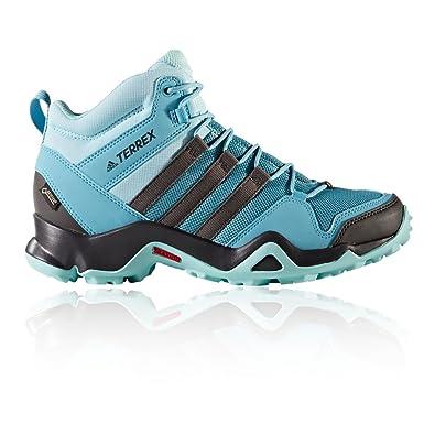 adidas Damen Terrex Ax2R Mid GTX W Trekking-& Wanderstiefel, Blau (Azuvap/