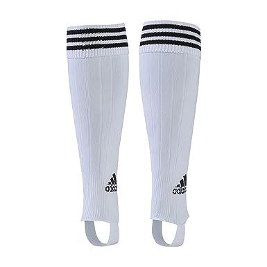 Adidas Medias de fútbol para Hombre 3 Rayas Rendimiento Calcetines, Hombre, Color Blanco/Negro, tamaño Large: Amazon.es: Deportes y aire libre