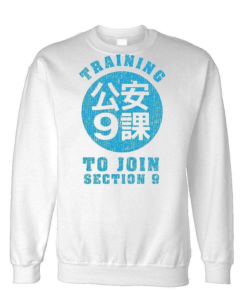 The Goozler Join Section 9 Anime Manga Japan Fleece Sweatshirt
