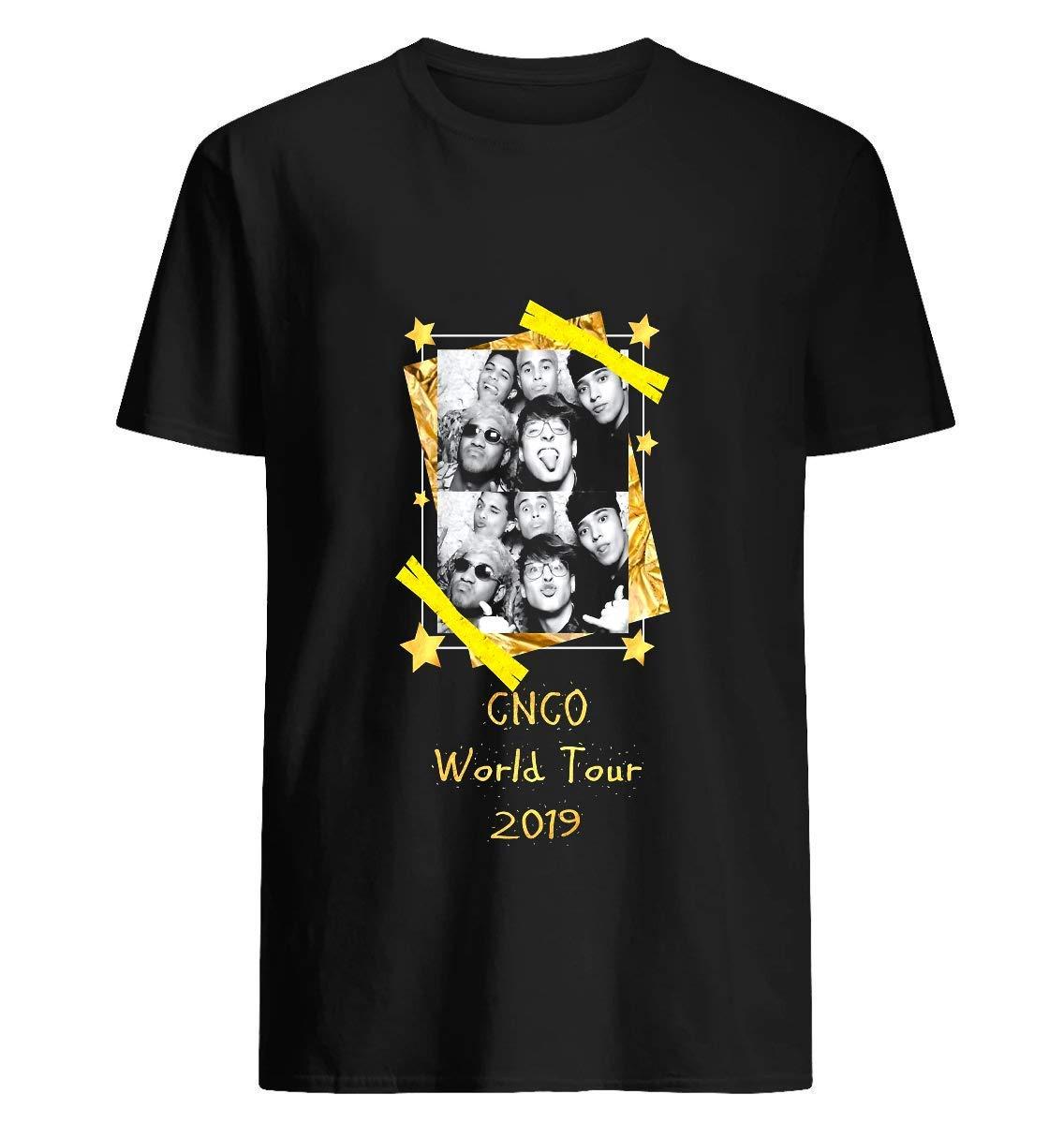 Cnco Usa Tour T Shirt For Unisex