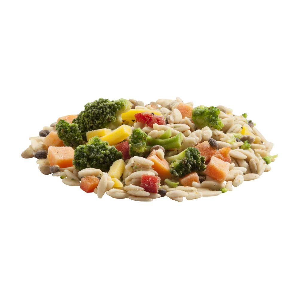 UpSides Orzo Grains and Vegetable Blend, 2.5 Pound - 6 per case.