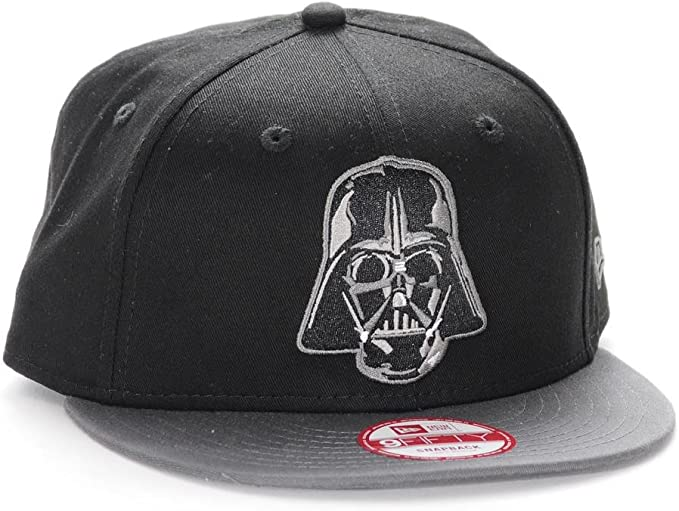 A NEW ERA Gorra 9Fifty Darth Vader Negro/Negro Talla: S/M: Amazon ...
