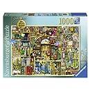 Ravensburger Bizarre Bookshop 2 Jigsaw Puzzle (1000-Piece)