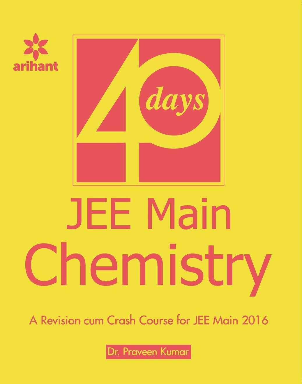 JEE Main CHEMSISTRY in 40 Days pdf