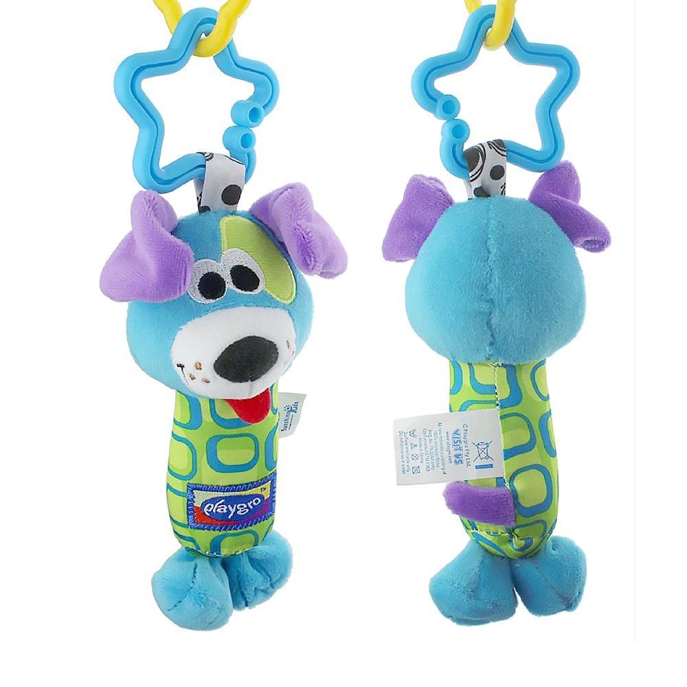 Beito 1 Pieza bebé Recién Nacido Rattles Colgante Cama Cochecito Mancuernas Juguetes (Lindo Cattle) Dog Perro