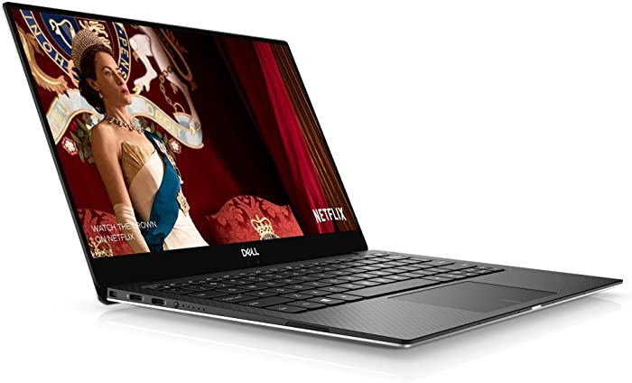Dell XPS 9370 Laptop, 13.3in UHD (3840 x 2160) InfinityEdge Touch Display, 8th Gen Intel Core i7-8550U, 16GB RAM, 512 GB SSD, Fingerprint Reader, Windows 10, Silver (Renewed)