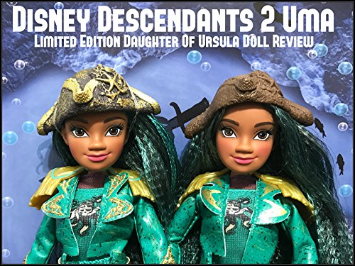Review: Disney Descendants 2 Uma Limited Edition Daughter Of Ursula Doll Review