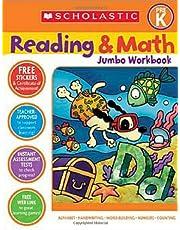 Reading and Math Jumbo Workbook: Grade PreK