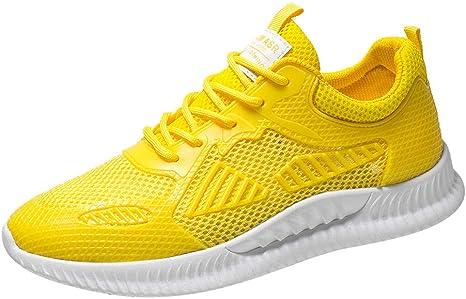 ZODOF Zapatillas Calzado Deportivo Hombre Tejido Respirable Zapatillas Moda Ligero Zapatos Casuales Zapatos para Correr Running Shoes Zapatillas de Ciclismo de montaña: Amazon.es: Ropa y accesorios