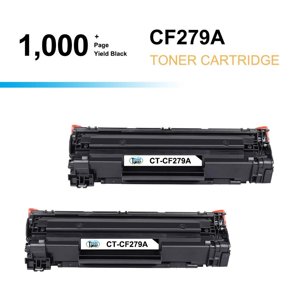 Cool Toner - Tóner Compatible con HP CF279A 79A, Color Black ...
