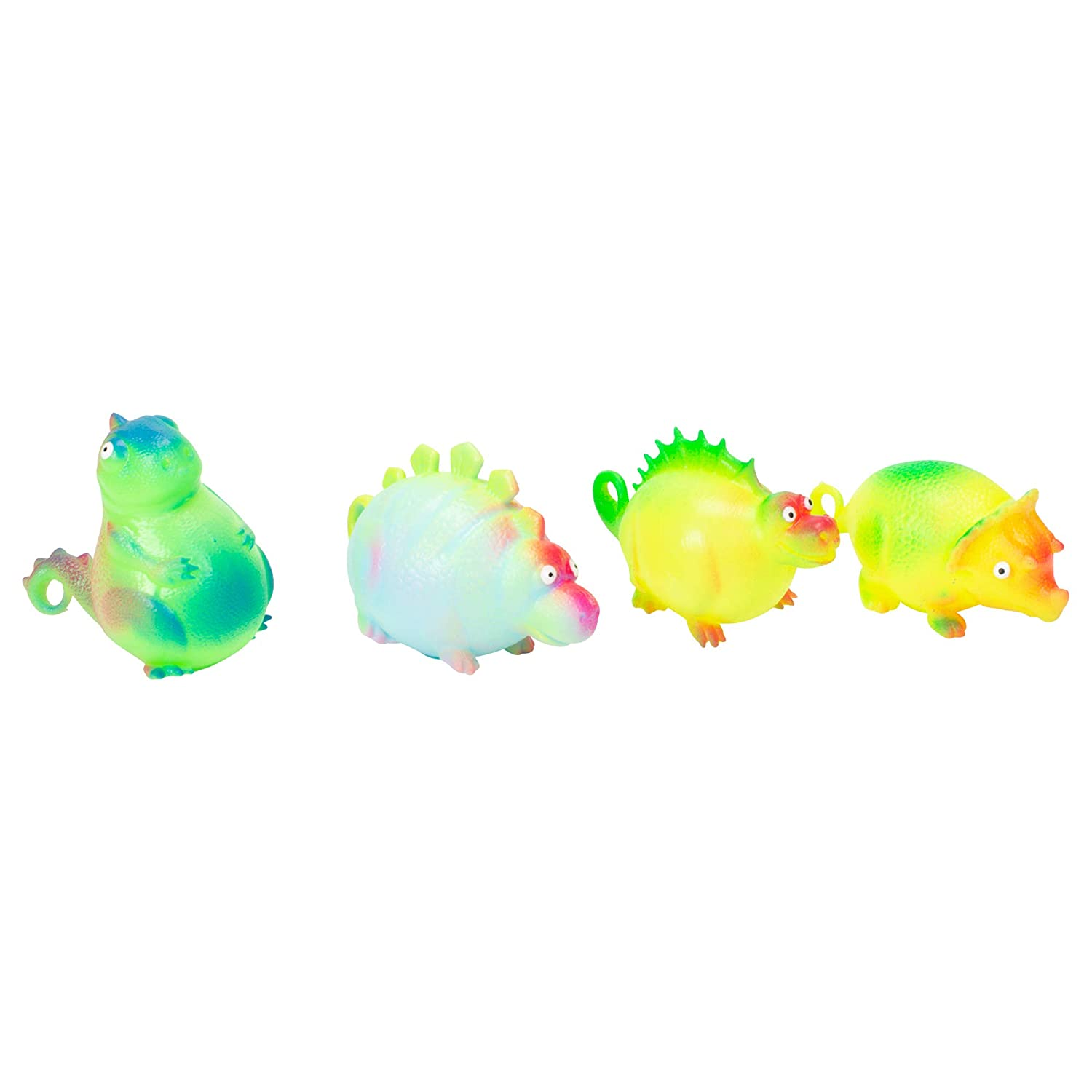 Class Collections Dinosaur Balloon Ball Inflatable Kids Novelty Toy Pack of 24