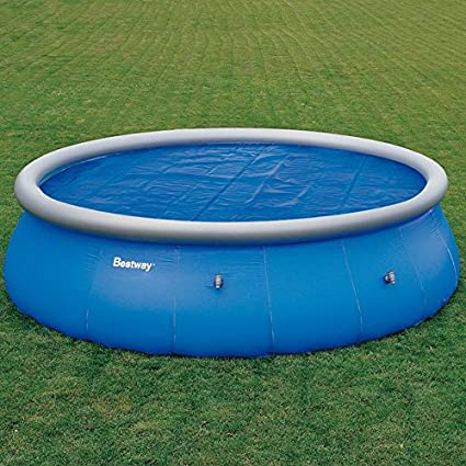 INTERNATIONAL COVER POOL Cobertor Solar para Piscina Redondas Ø 3 m Geo Bubble 400 Micras: Amazon.es: Jardín