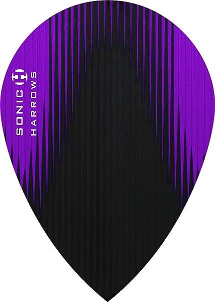 Purple Pear Shape Harrows Sonic Dart Flights
