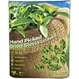 """WHOLE DRIED STEVIA LEAVES, Green Stevia Leaf (2oz.) (56.82 grams.) 100% Natural from South America. """"Hand Picked""""."""
