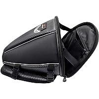 Kesoto Bolsa de sela de motocicleta de 15 litros – mochila impermeável para enrolar no assento – para motociclismo…