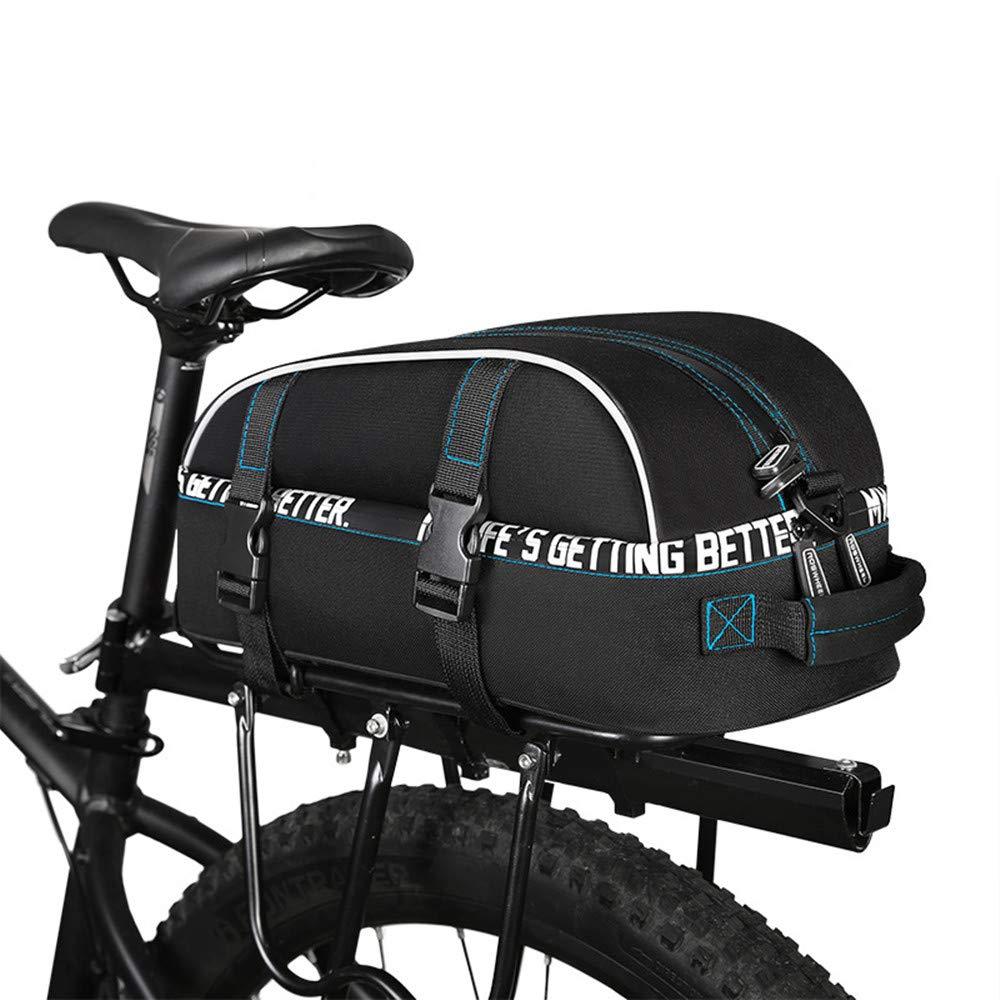 FeliciaJuan 自転車ラックバッグ 自転車 パニエ バイク パニエ トランクバッグ 大容量 自転車 後部座席 パニエ MTB自転車 パニエ バッグ バイク 後部座席 バッグ Cy   B07Q35MTJX