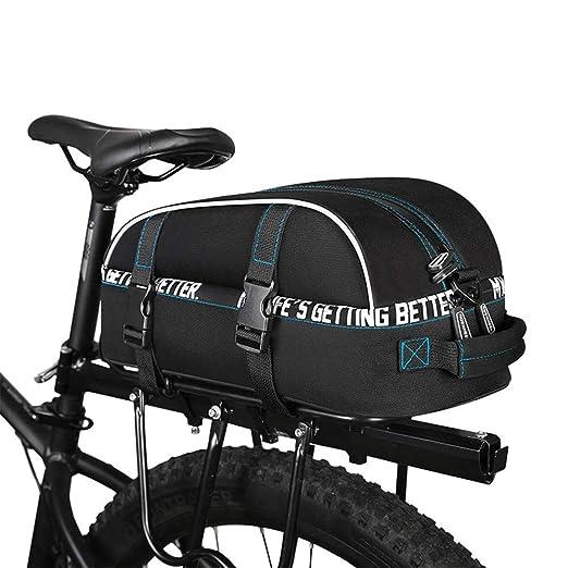 Sunbobo Alforja para Maletero de Bicicleta, Alforja de Asiento ...