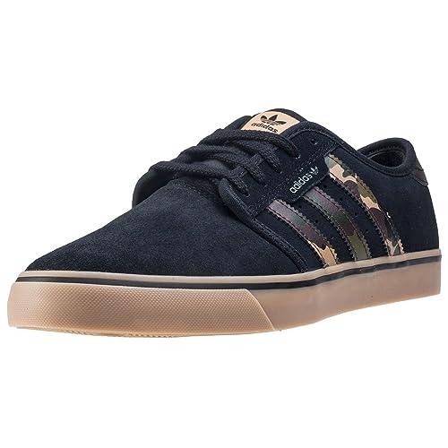 Adidas Seeley, Zapatillas de Deporte para Hombre, Azul (Maruni/Ftwbla/Gum4 000), 40 2/3 EU adidas