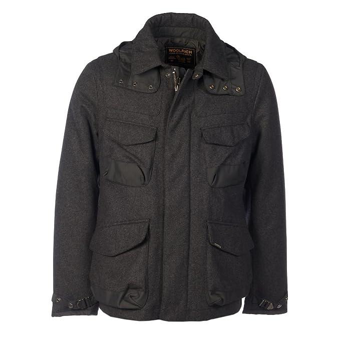 WOOLRICH de carbón vegetal activo chaqueta de hípica para ...