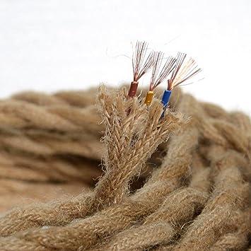 Vintage Seil Draht Twisted Kabel Retro Geflochten (2 Core/3 core ...