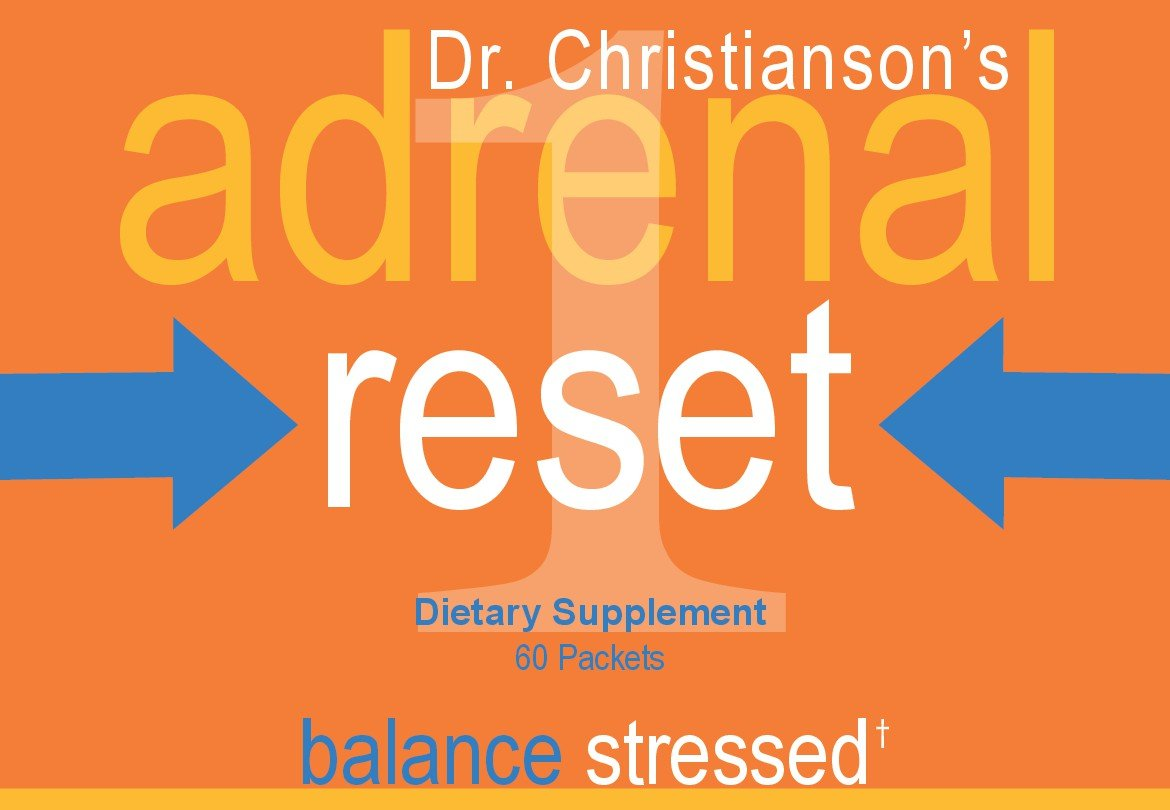Adrenal Health Pack - Stressed for Weight Loss on the Adrenal Reset Diet - 60 Count