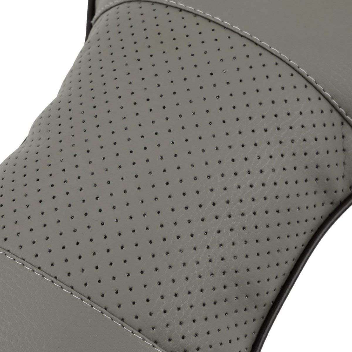 Gugutogo Universal Solid Bone Shape Headrest Pillow Breathable PU Leather Cloth Car Head Neck Rest Cushion Auto Interior Accessories