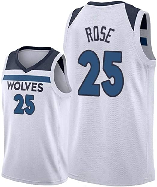 AKCHIUY Camiseta De Baloncesto para Hombre, Derrick Rose # 25- NBA ...