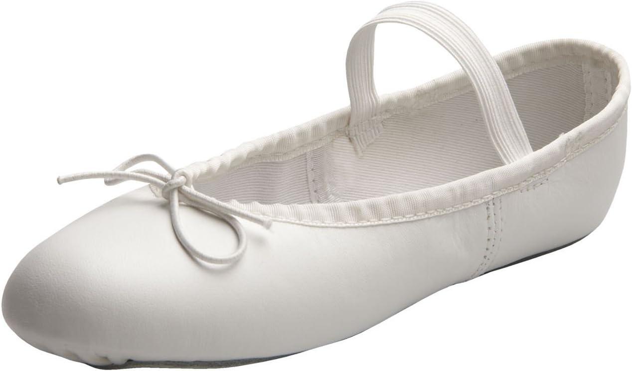 スポットライトのためのアメリカのバレエ劇場女の子の白い女の子のバレエシューズ10レギュラー