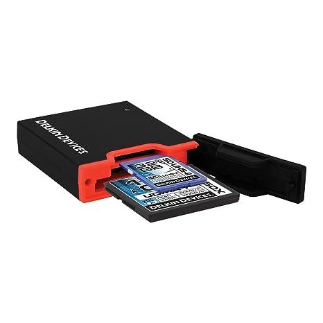 Lector de Tarjetas de Memoria Delkin USB 3.0 de Doble Ranura ...