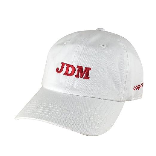 JDM Team Unstructured Hat Dad Cap Honda Toyota Suburu Lexus Nissan ... 7f55b9db045