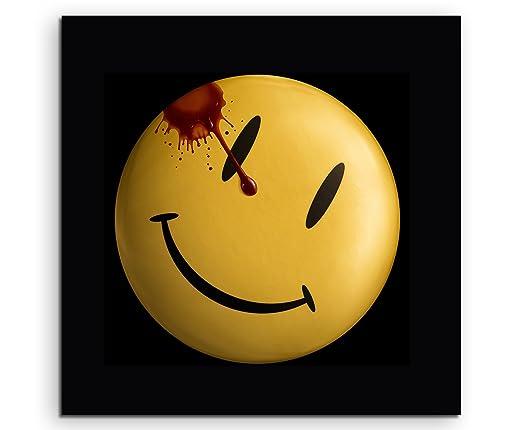 Watchmen Smiley Lienzo en 60 x 60 cm. Fabricado en Alemania ...