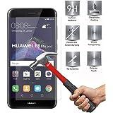 Huawei P8 Lite 2017 Screen Protector, 2-Pack Ultra Lightweight Premium Tempered Glass Screen Protector Film - 2.5D Ultra HD Clear Anti-Scratch Screen Protector