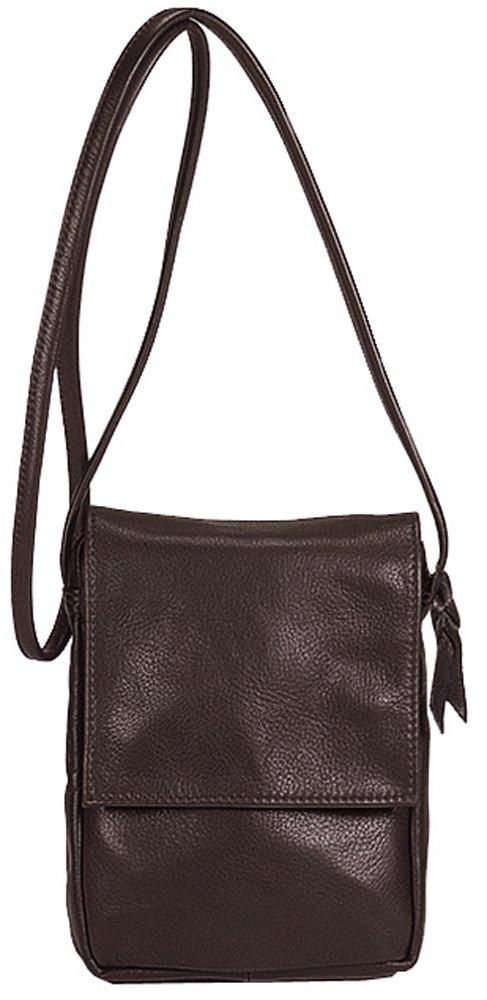 Sven Design North South Leather Handbag Chocolate