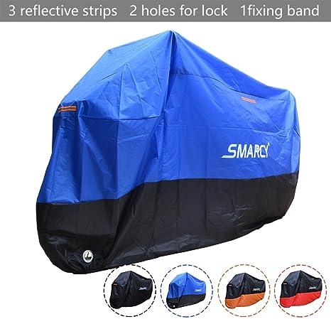 a2a95da55f2 Cubierta de Motoa Impermeable Anti Viento Polvo UV Lluvia Humedad Protector  con Agujeros de Bloqueo COFIT Funda para Moto XL