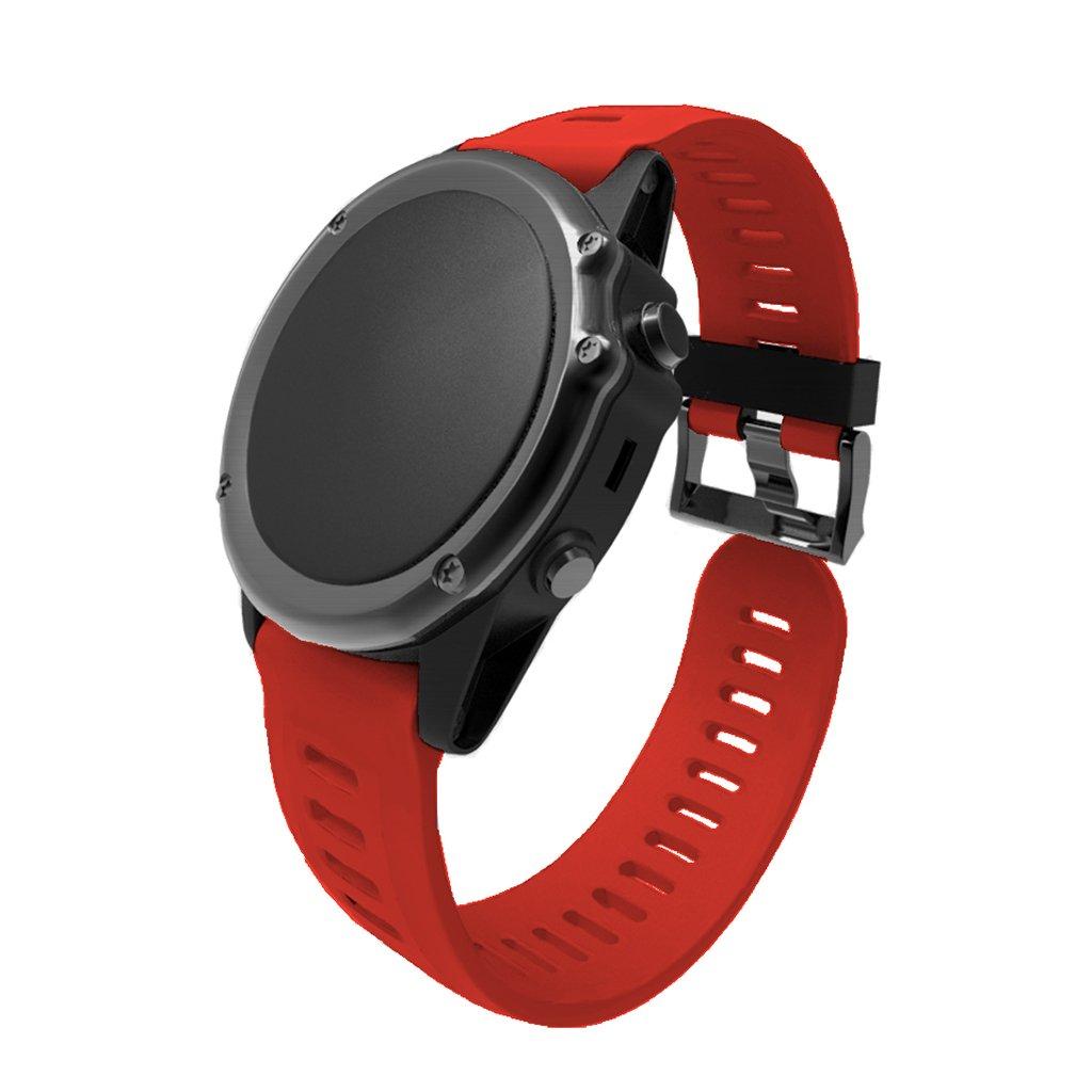 Jiamins Bracelet de Rechange pour Montre Garmin Fenix 3//3 HR Bracelet de Montre en Silicone de Remplacement