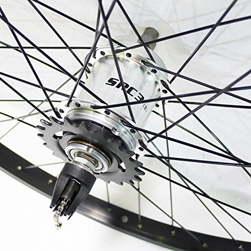 Sturmey Archer S30 3-Speed 36h, Silver with Coaster Brake
