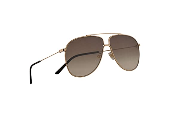 Amazon.com: Gucci GG0440S - Gafas de sol, color dorado y ...