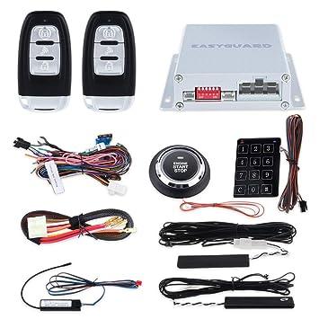 EASYGUARD EC002-p2 Smart Key RFID PKE Sistema de Alarma de ...