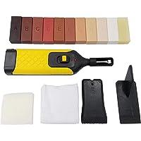 Fenteer 15pcs Laminate Floor and Furniture Repair Kit Floor & Furniture Scratch Recover Kit