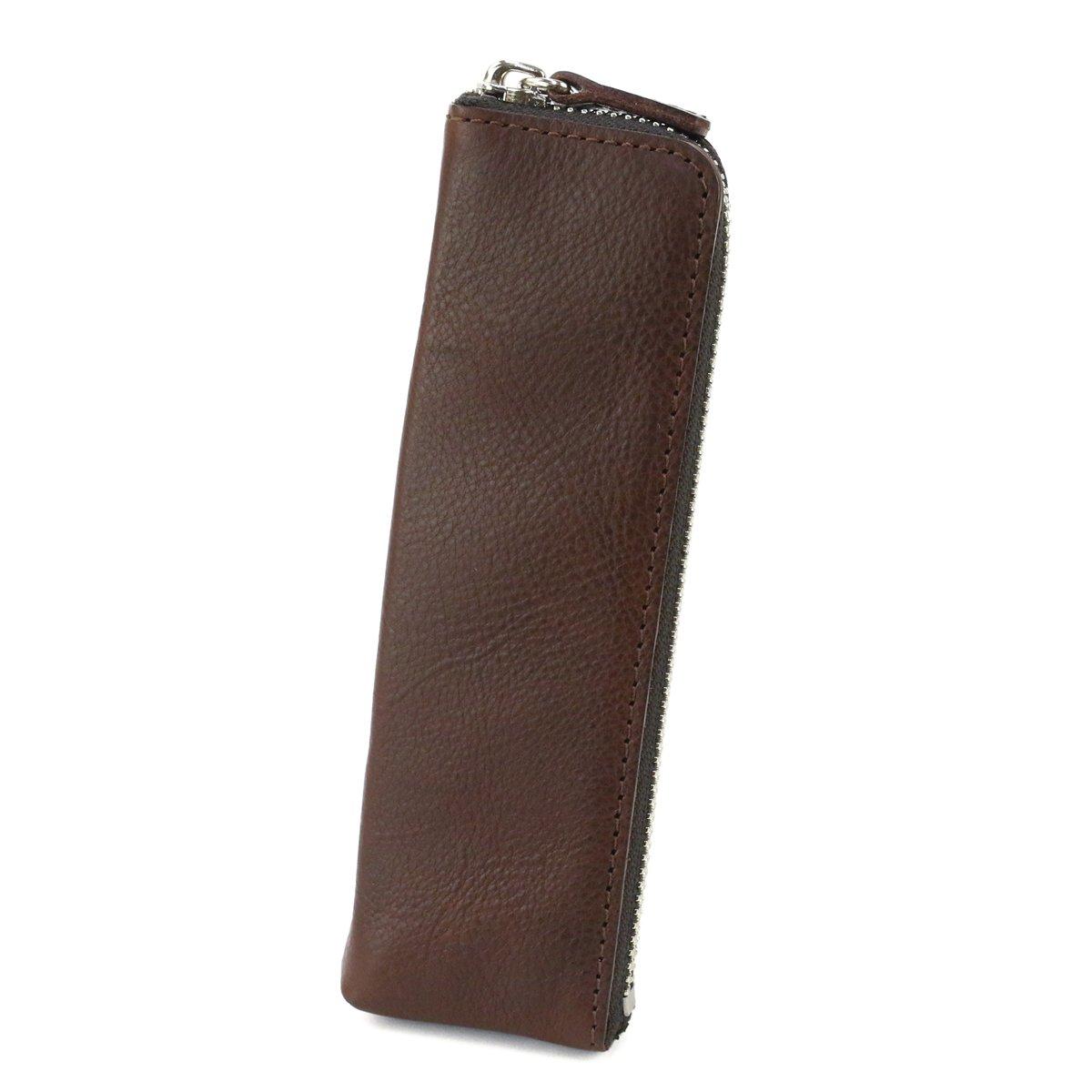 ダコタブラックレーベル プルームテック ケース 本革 マルスピーオ 0627102 B078LH1CXM チョコ チョコ