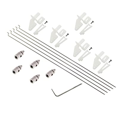 1fd2cc81298d 60%OFF Maxmoral 5 Sets RC Fixed Wing Airplane Control Horn Kit - 5X ...