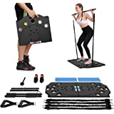 BARWING Portable Home Gym Full Body Workouts Equipment Resistance Workout Set for Home, Office or Outdoor with Resistance Ban