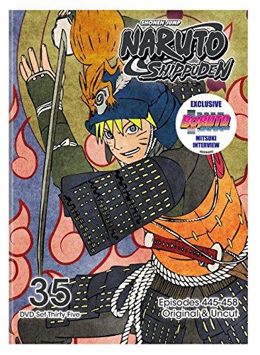 Naruto Shippuden Uncut Set 35 (34 Naruto)