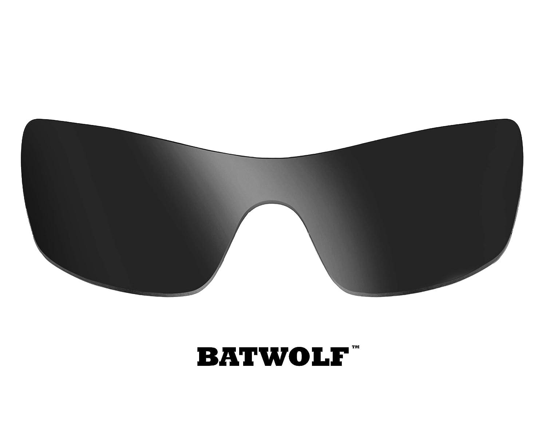 034ddcbfdcd Batwolf Replacement Lenses Polarized Black Iridium by SEEK fits OAKLEY at  Amazon Men s Clothing store