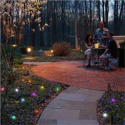 LumaBase 54412 12 Count Changing Color Floating Blimp LED Lights