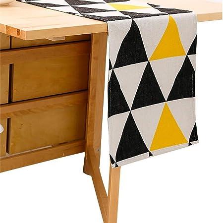 SJDZQ Corredores de Mesa de algodón y Lino, Color sólido para Piano Mesa de Comedor Televisor Gabinete 3 tamaños para Elegir (tamaño : 32×230cm): Amazon.es: Hogar