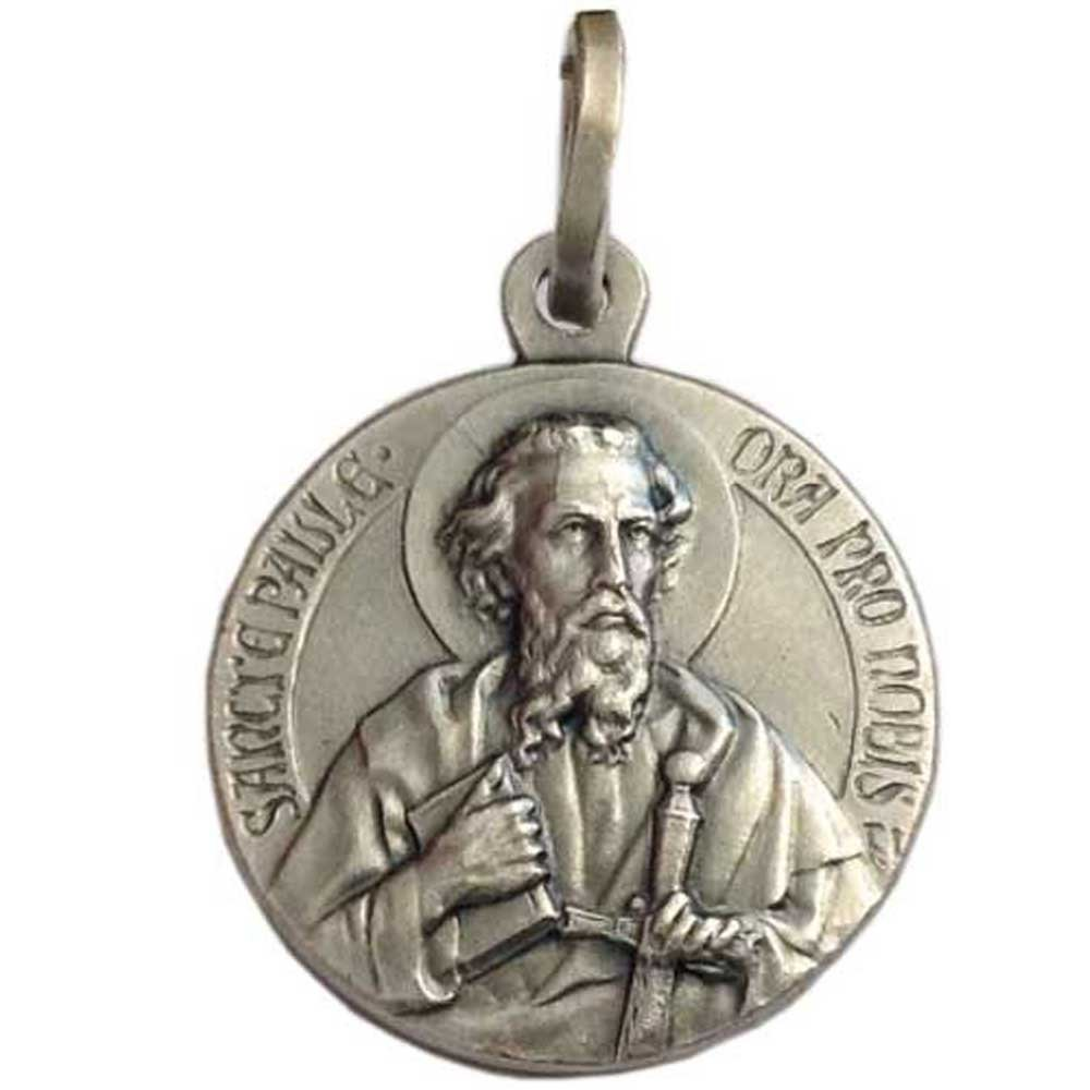 Medalla de San Pablo el Apóstol - Plata Maciza 925 - Las Medallas de Los Patronos … …